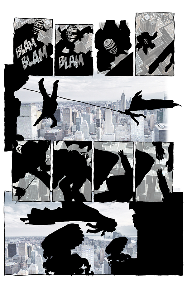 Dark Knight Page 53 Cityscapes FX