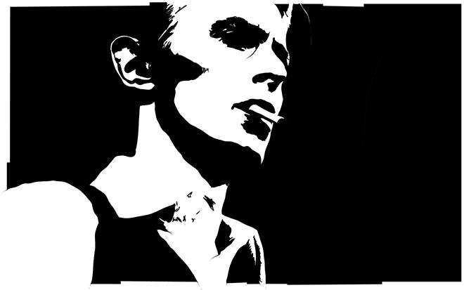 David Bowie punk