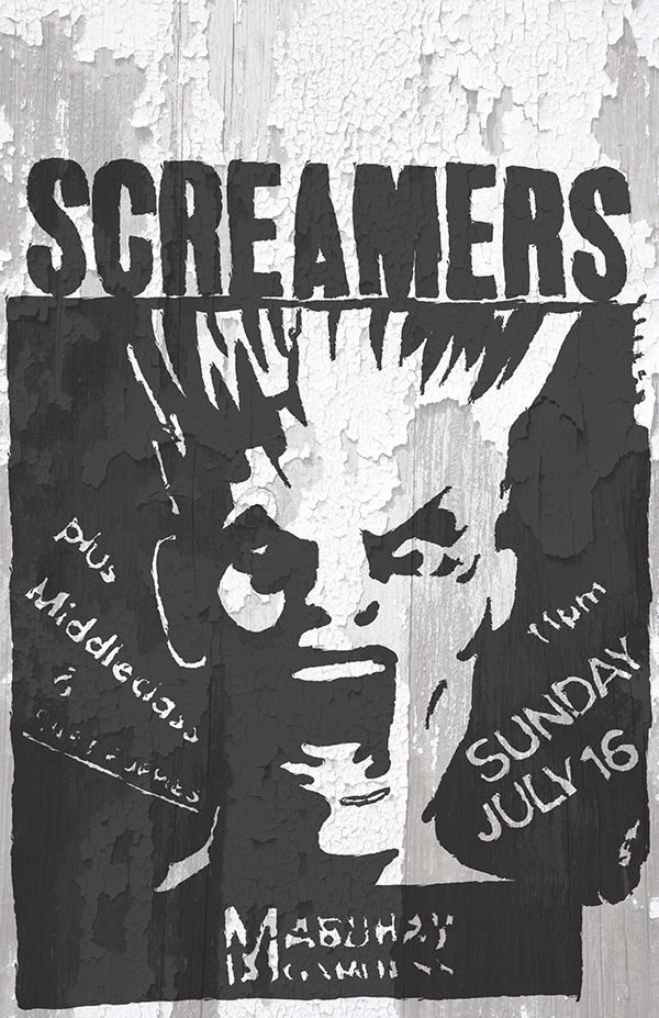 Screamers Finished 11x17