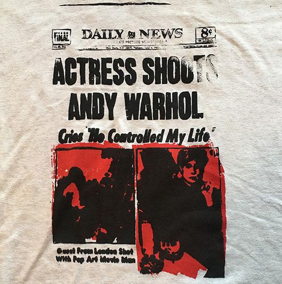 Actress-Shoots-Andy-Warhol-T-Shirt